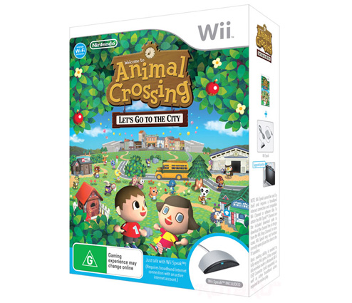 Wii animal crossing bundle being bigmacky for Agrandissement maison animal crossing wii